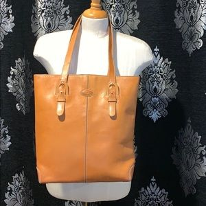Tod's vintage leather tote